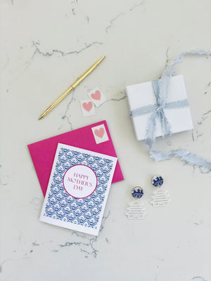 Earrings + Personalized Stationery {1}