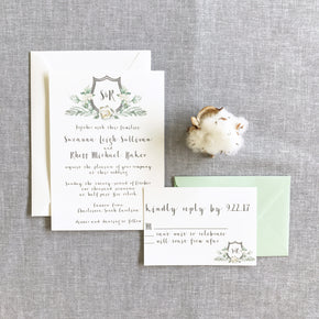Crest | Wedding Invitation Suite