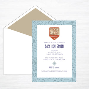 New Adventure | Shower Invitation