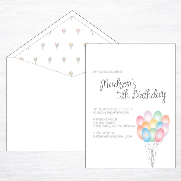 Up, Up & Away | Pastel - shop greeting cards, handmade stationery, & wedding invitations by dodeline design