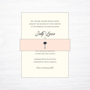 Printed Belly Band - shop greeting cards, handmade stationery, & wedding invitations by dodeline design - 1