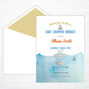 Under the Sea | Shower Invitation