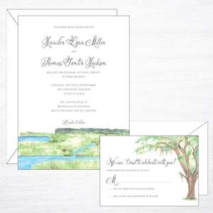 Lowcountry | Wedding Invitation Suite