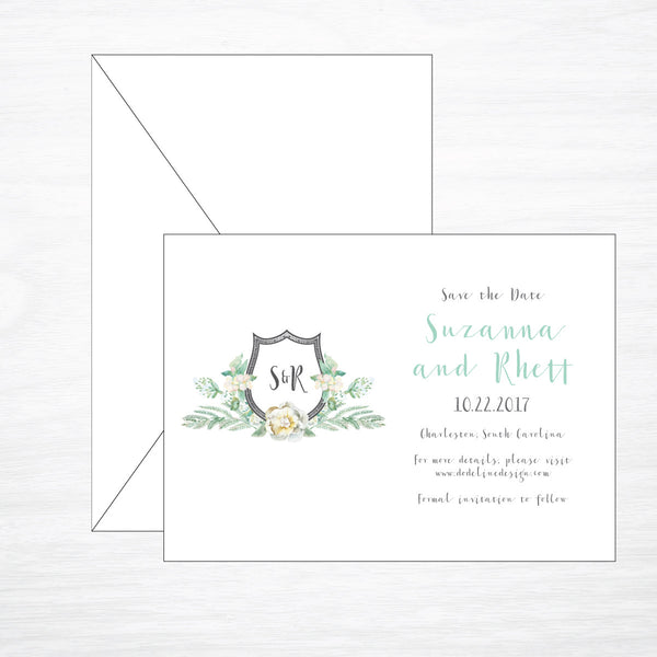 Crest | Wedding Save the Date