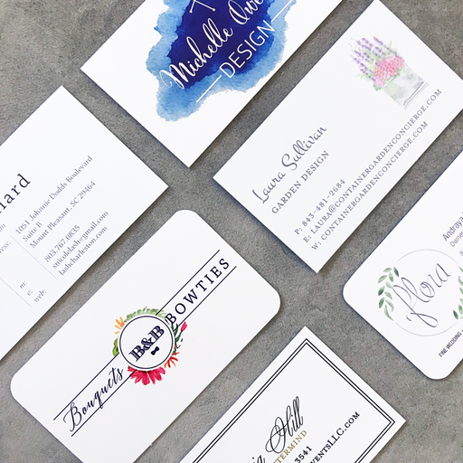 Business Cards, Flat Printed