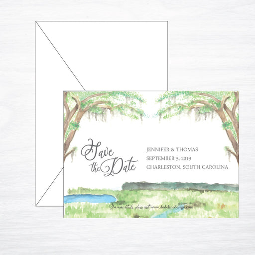 Lowcountry | Wedding Save the Date