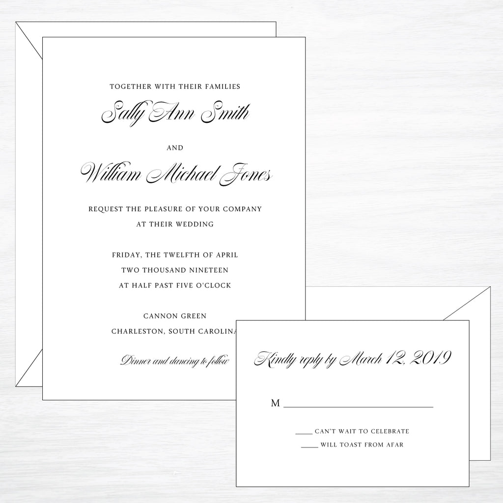 Timeless | Wedding Invitation Suite