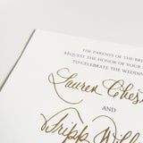 Foil Upgrade - shop greeting cards, handmade stationery, & wedding invitations by dodeline design - 1