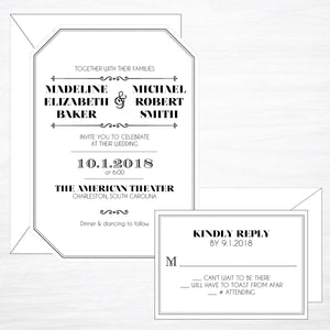 Gatsby | Wedding Invitation Suite