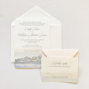 Battery | Wedding Invitation Suite