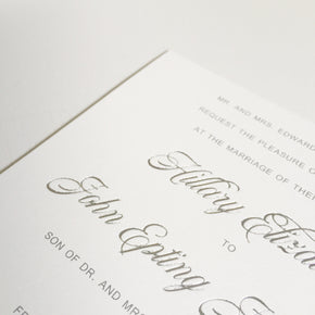 Foil Upgrade - shop greeting cards, handmade stationery, & wedding invitations by dodeline design - 2