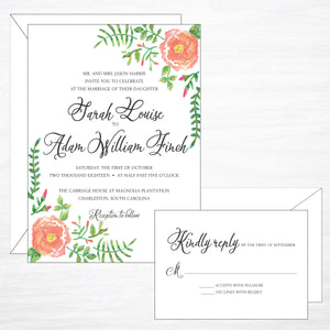 Flora | Wedding Invitation Suite