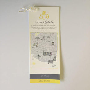 Welcome Bag Map Insert