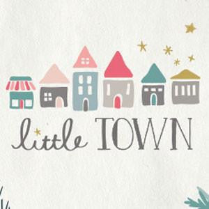 "Amy Sinibaldi's ""Little Town"" fabric is here"