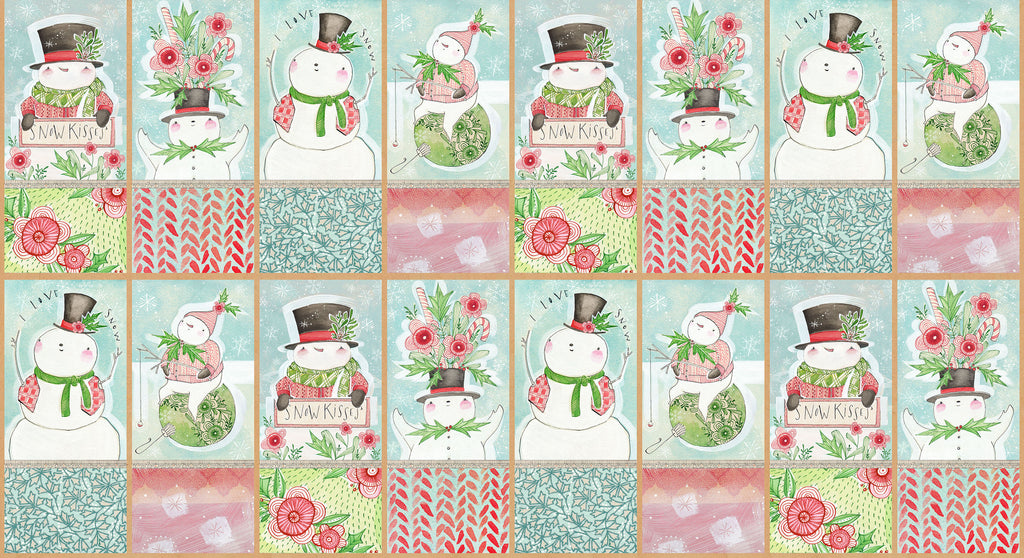 Snow Fun, Snow Sweet panel