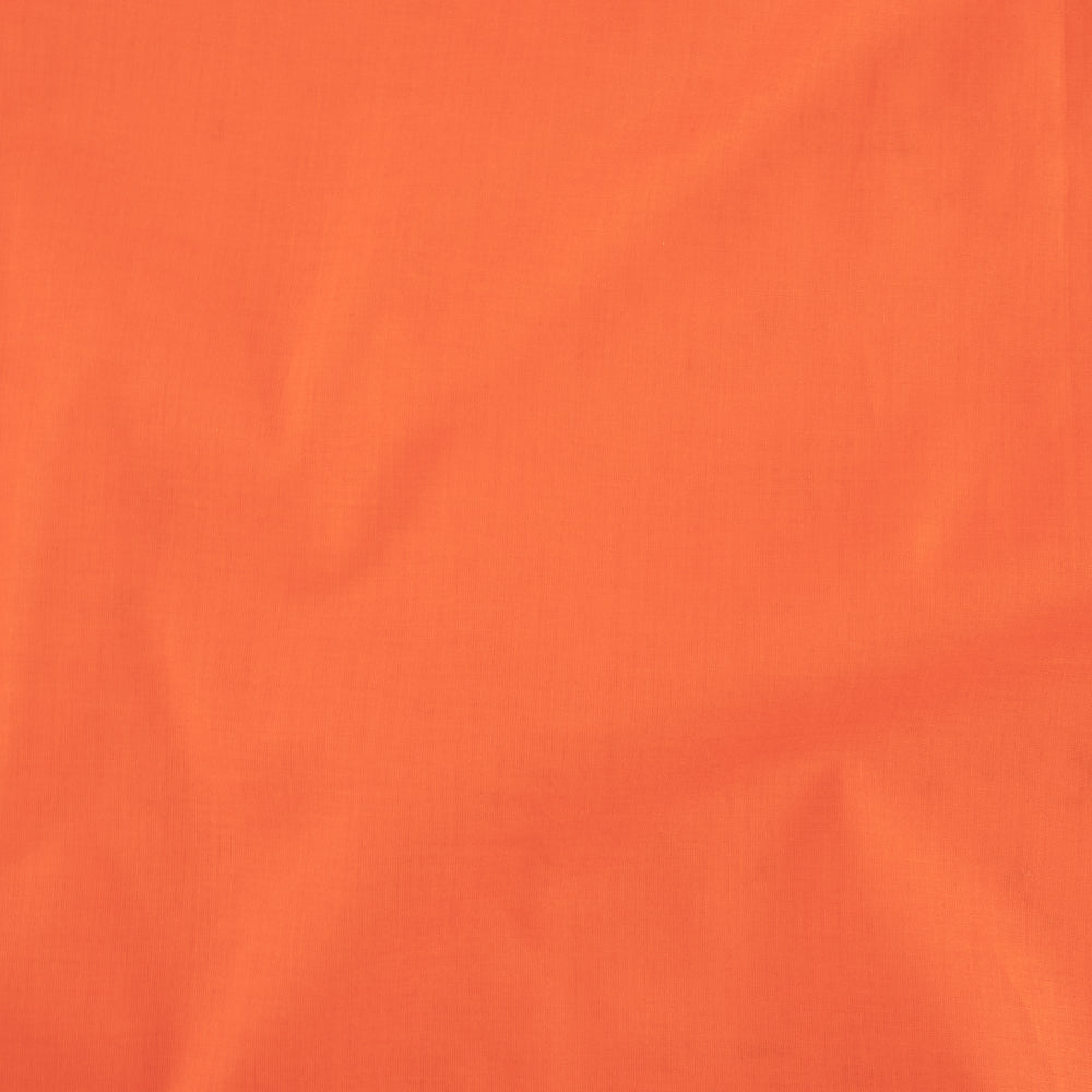Bella Cotton Lawn, Coral solid