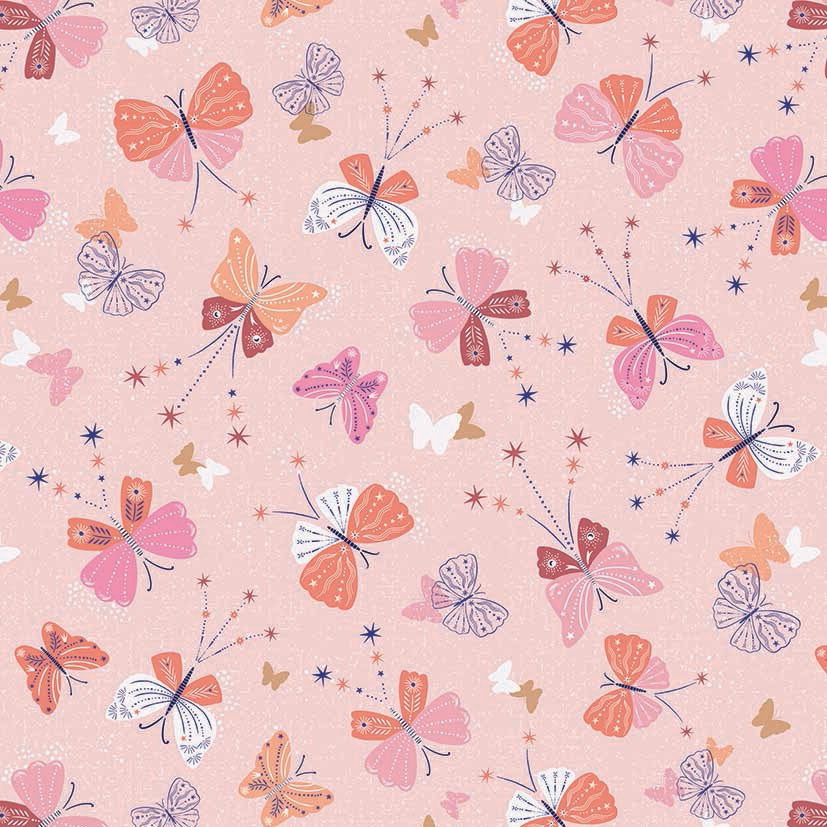 Celeste, Butterflies in Pink