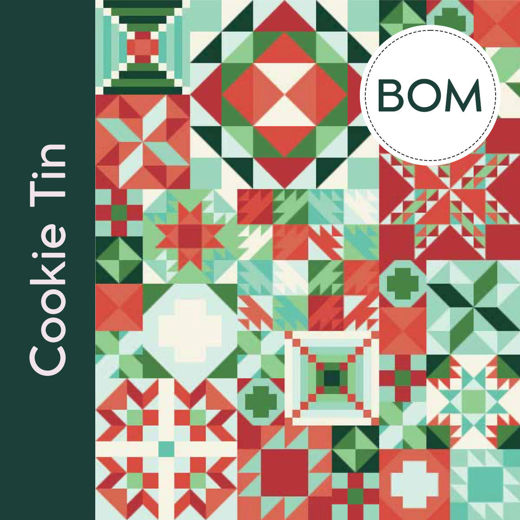 My Favorite Color is Moda sampler quilt BOM monthly subscription