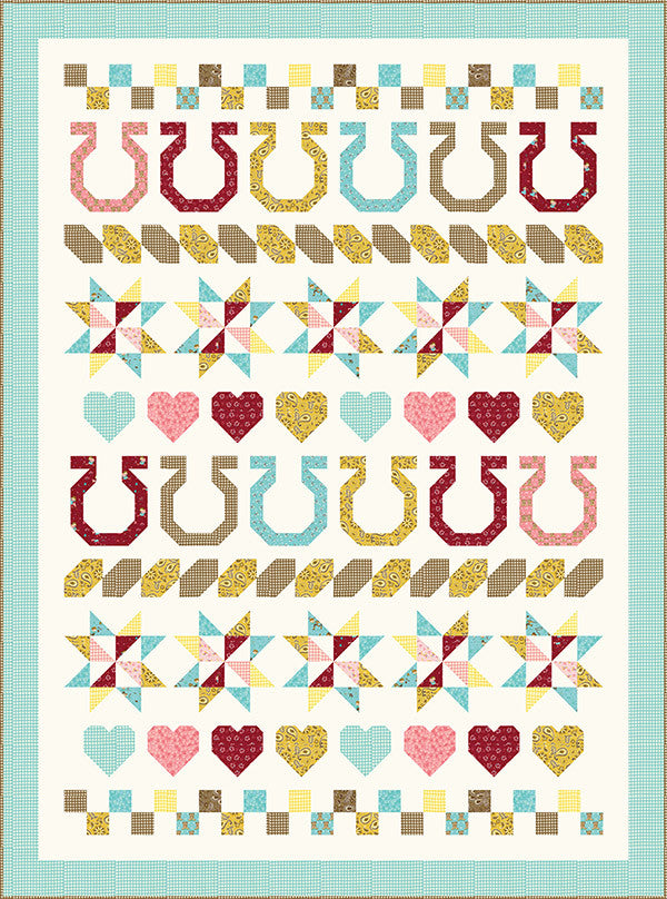 Giddy Up quilt pattern