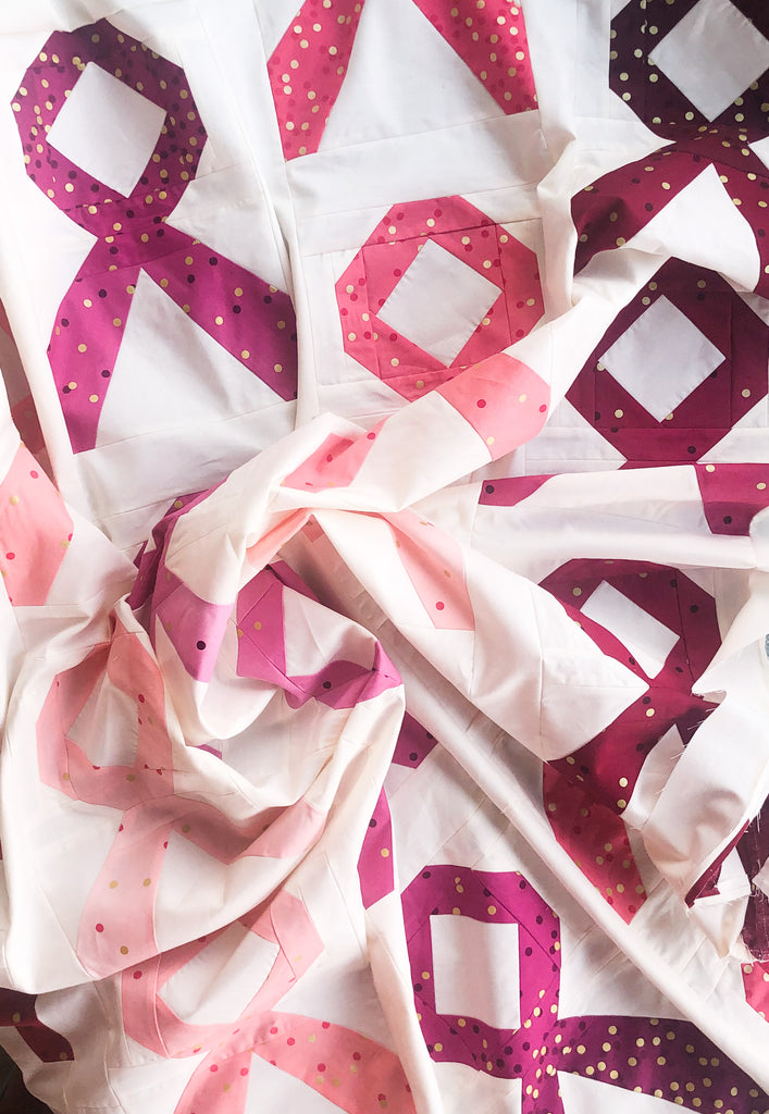 Survivor quilt kit featuring Ombre Confetti by The Homebody Co.
