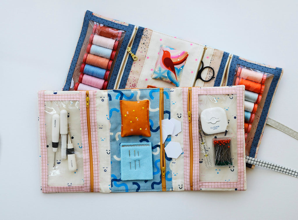 Make and Go Pouch by Aneela Hoey