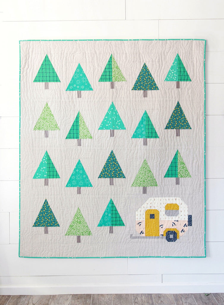 Up North quilt pattern by Pen + Paper Patterns