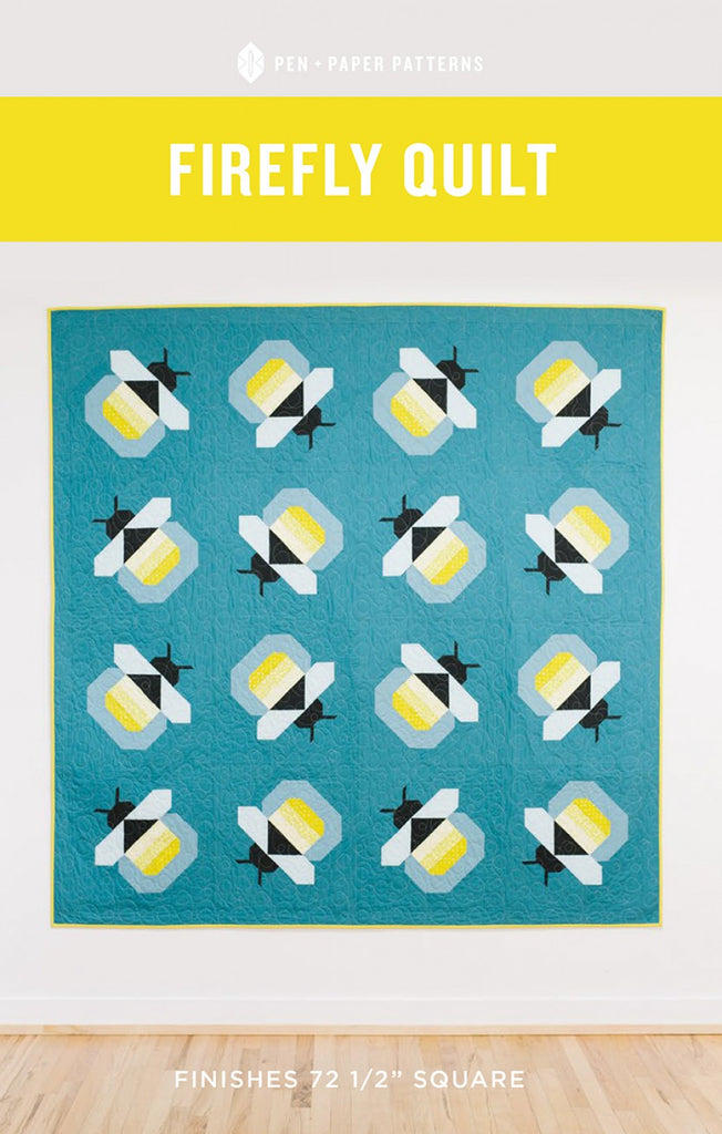 Firefly quilt pattern by Pen + Paper Patterns