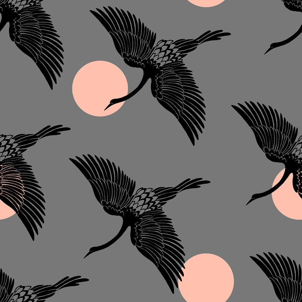 Florida, Egrets in Slate Grey (PREORDER)