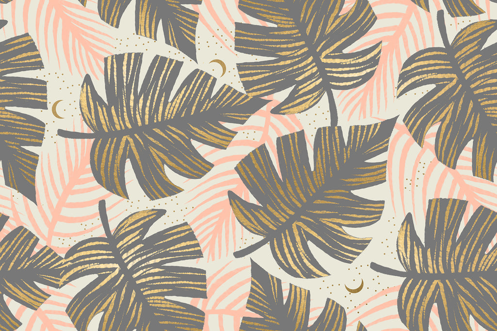 Florida, Shade Palms in Slate Grey (PREORDER)