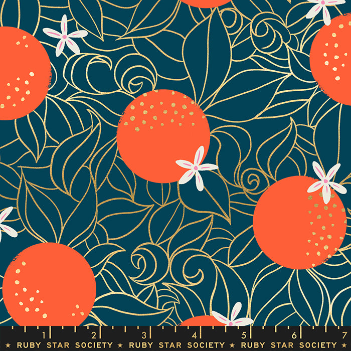 Florida, Orange Blossoms in Peacock (PREORDER)