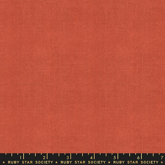Warp & Weft, Cross Weave in Persimmon (PREORDER)