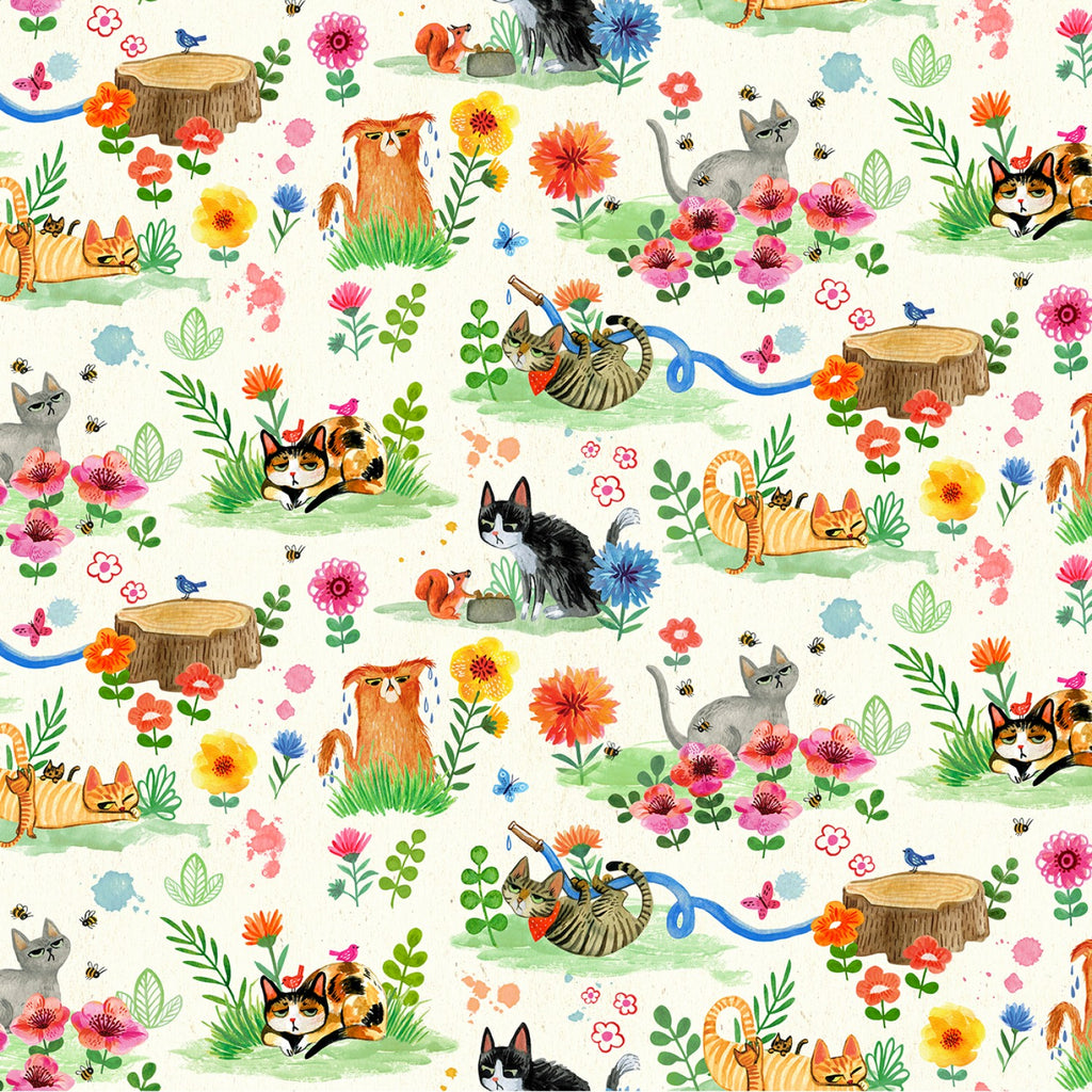 Catitude, Cat Garden in Cream