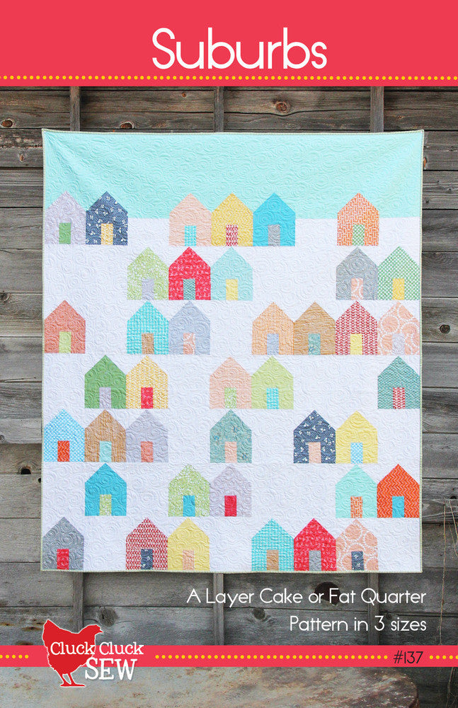 Suburbs quilt pattern by Cluck Cluck Sew - Bloomerie Fabrics - Patterns - 1