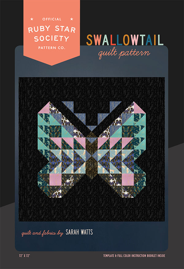Swallowtail quilt pattern by Ruby Star Society Pattern Co.