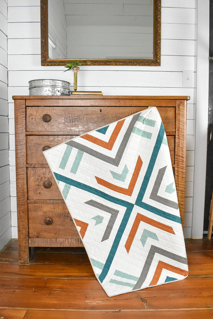 Homecoming quilt pattern by Lo & Behold Stitchery