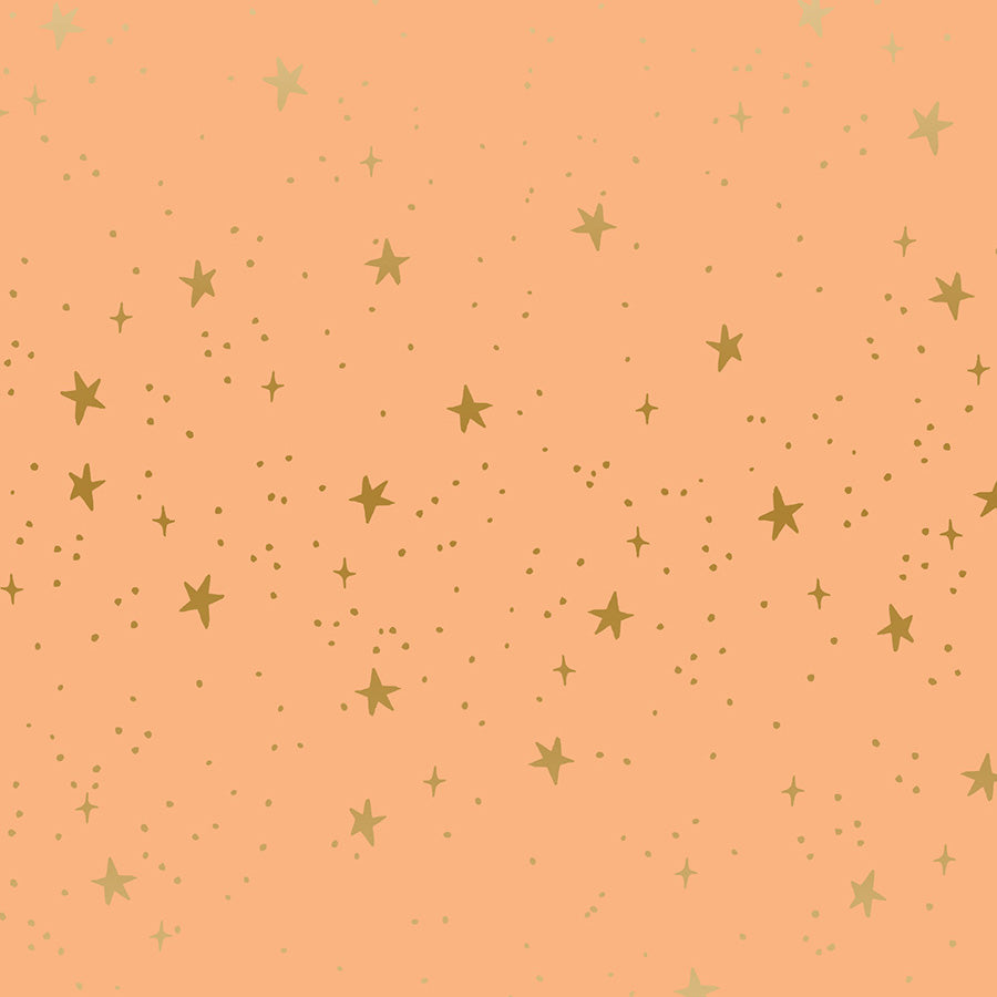 Primavera, Stars in Peach Metallic