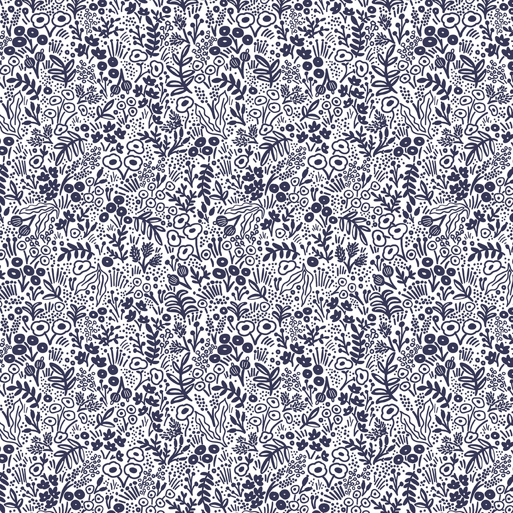 Rifle Paper Co. Basics, Tapestry Lace in Navy (PREORDER)