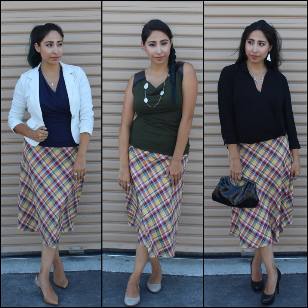 Style of the Week #18:  Moretta Plaid Skirt