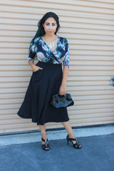 Theia Grazi Tembo Skirt - Night Look