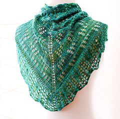 B2 Shawl -- Instant Download