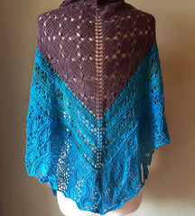 The Big Debbie Shawl -- Instant Download