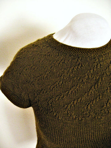Picture of Apollonius Yoked Sweater -- Instant Download