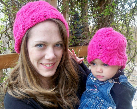 Picture of Leaf Lace Hat -- Instant Download