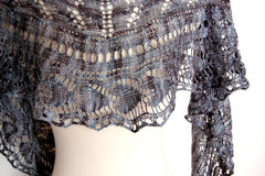 Flyleaf Shawl -- Instant Download