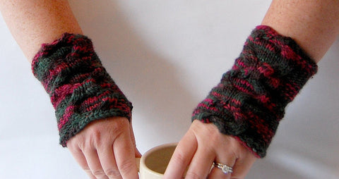 Picture of Sookie's Pulse Warmers -- Instant Download