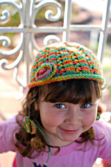 Maya's Hat (Child Size 3T-6T) -- Instant Download
