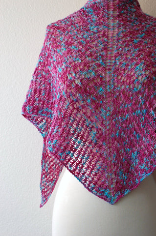 Picture of Romulan Cloak Shawl -- Instant Download