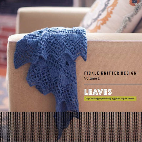 Picture of Leaves, Fickle Knitter Design Volume 1 -- Signed Print Copy
