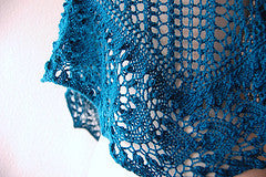 Picture of Nebulous One Skein Shawl -- Instant Download