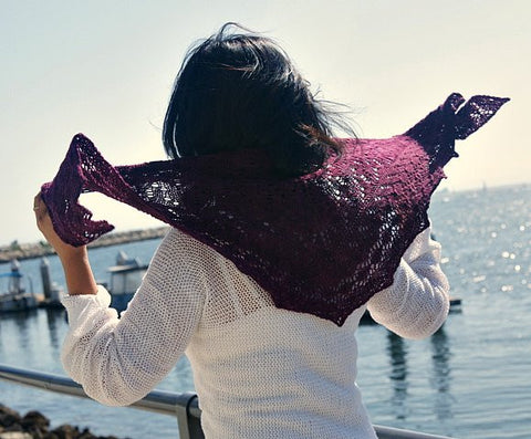 Picture of The Baah One Skein Shawl -- Instant Download